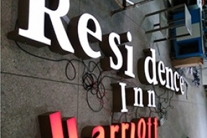 Exterior Stainless Steel Channel Letters LED Sign