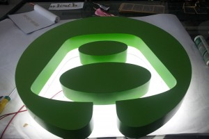 Professional Customized Backlit Channel Letters