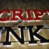 Outdoor LED Stainless Steel Letter Signs (BLC-20)