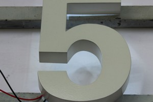 Durable Outdoor 3D Stainless Steel Letter Sign (BLC-20)
