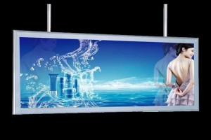 Advertising Frameless Tension UV Fabric LED Light Box