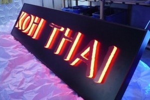 DIY LED Backlit Channel Letter Sign LED Letter Sign 3D Light Box Letter Sign