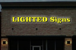 Outdoor LED Sign Frontlit and Backlit Channel Letters