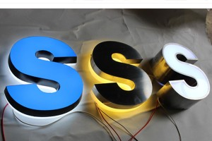 High Quality Stainless Steel LED Illuminated Letters Signs