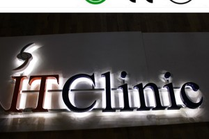 Outdoor LED Stainless Steel Illuminated Letter Sign