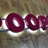 Wholesale Back Lit Blackpainted Stainless Steel Channel Letter