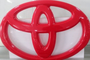 Acrylic Vacuum Forming Advertising Car Logo Sign