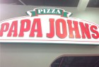 Outdoor Advertising Acrylic LED Sign Board for Pizza