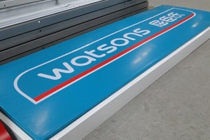 Large Size Store Shop Vacuum Formed ABS Billboard