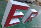Outdoor Wall Mounted 3D LED Lighting Illuminated Letter Sign
