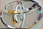 Custom Laser 3D Stainless Steel Car Logo with Names for Toyota