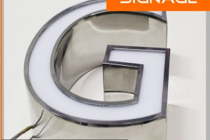 Acrylic Standard Channel Letters for USA Market