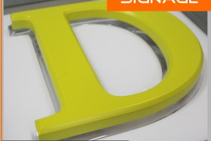 Outdoor Advertising Luminous Character Backlit Letters