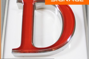 Front Light Nice Look Alphabet Letter with Face Acrylic