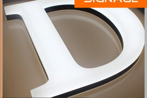 High Brightness Outdoor Advertising Acrylic Letter