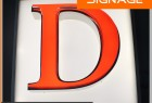 Face Lighting Waterproof Channel Letter with Different Color
