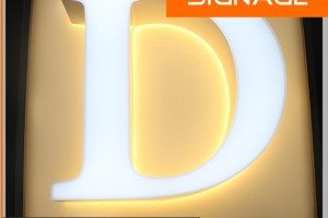 Well Design LED Back Lit & Front Lit Acrylic Channel Letter