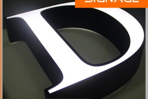 Decorative Frontlit Letter Signs