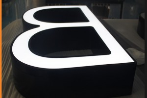 Frontlit Super Light Channel Letters
