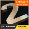 Advanced Technology Stainless Steel Letters Signages