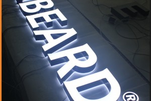LED Acrylic Channel Letter for Shopping Malls Double Side Ligted