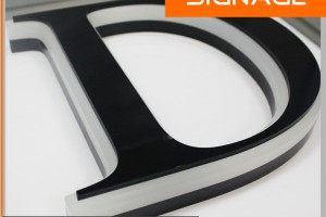 Side Lit Nice Look Acrylic Letter