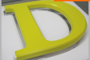 Acrylic Backing DIY LED Backlit Channel Letter Sign