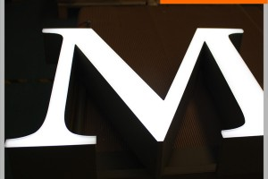 Outdoor Advertising Front Light 3D Acrylic Letters