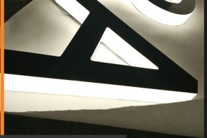 LED Light Letterring for Wall Decorative