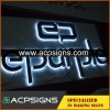 lighted sign letters backlit letter made by stainless steel