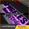 lighted sign letters Mirror Stainless Steel Backlit Letter