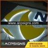 lighted sign letters mirror stainless steel 3d letter
