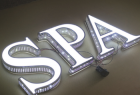 Perfect Customized Size and shape led front lit 3D channel letter signs