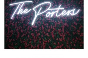 The porters neon DC12v 24v outdoor waterproof advertisement custom pattern design led neon sign light