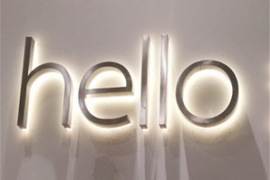 Wholesale acrylic letter backlit 3d channel letter led changeable letter sign