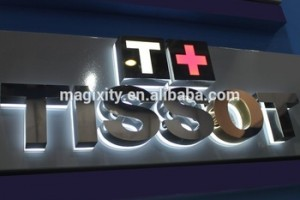 acrylic logo sign business sign company shop sign from Signgroup factory