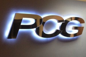 Custom 3d polished stainless steel sign letters mirror finished company logo sign