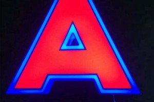 3D Colorful Full Lighting Acrylic LED Channel Letters/ Storefront Led Channel Letter Sign