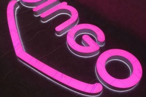 High quality Outdoor 3d Advertising Acrylic Letter Signs Large Business Sign