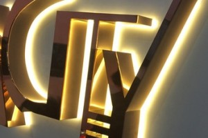Different Style Diy Backlit LED Letter for Company/Shopping Mall Advertising