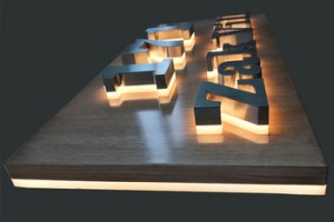 Factory Glowing In Dark House Numbers Outdoor Led Open Sign