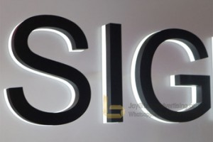 Waterproof Led Back Lit Letter Sign Acrylic Board with Led Module