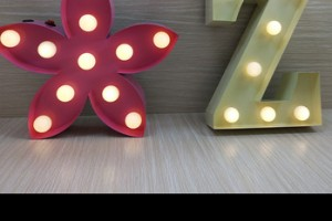 professional factory custom metal party wedding decorative led bulb letters advertising led marquee letter sign