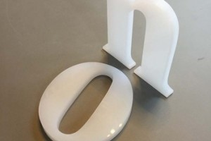 outdoor advertising led acrylic 3d channel letter
