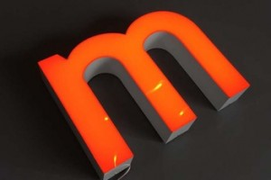 Henan Lucky No Edge LED Letter Lights Sign For Advertising Decoration