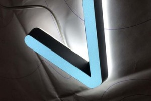 Best Price Double SIde LED Light Mini Letter Sign Acrylic Signs For Storefront
