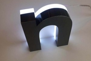 Optical acrylic bright LED Material and Customized Size outdoor advertising led letter sign