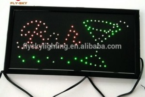 Can be hung and can be customized to good quality indoor  led sign board CE&ROHS approved for store advertising