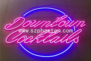 Led lights for sign board, Electronic new advertisement products custom acrylic neon sign