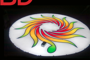 Professional design factory LED RGB outdoor signboard Wall Mounted Led Acrylic Signs and Billboards
